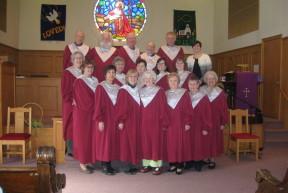 Hooksett UCC Choir 2016